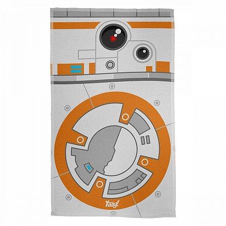 Pano Multiuso em Microfibra Star Wars BB8