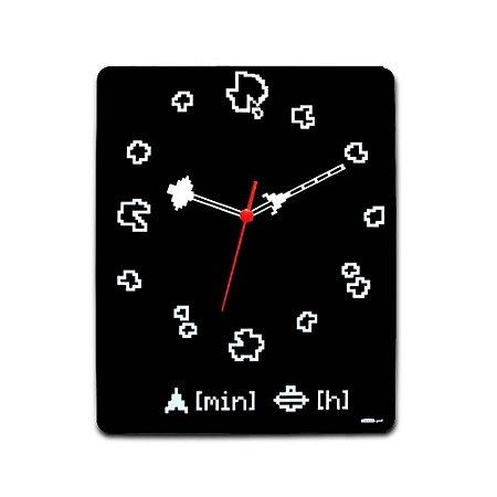 Relógio de Parede Asteróides