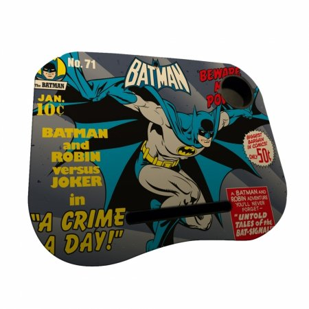 Porta laptop mdfplastico DC Batman beware my power sem led