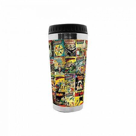 Copo térmico plástico DC Comics 6,5 X 8 X 17,5 cm