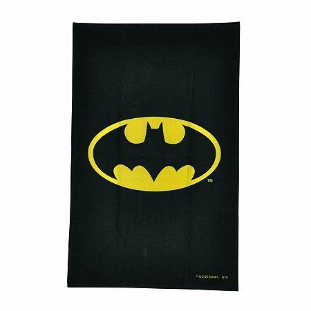 Pano de prato algodao DC logo Batman preto 45 X 70 cm