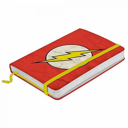Caderneta de anotação DC The Flash logo fd vermelho A6