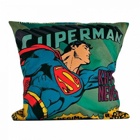 Capa de almofada poliester DCO SUPERMAN FLYING 45 X 45 CM