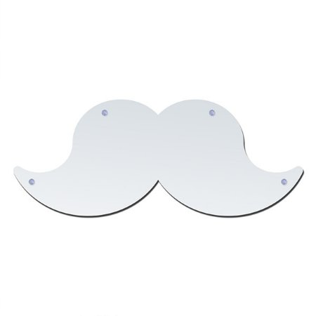 Espelho com ventosa bigode