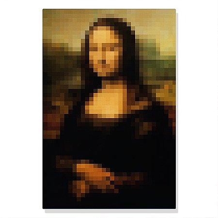 Quadro Canvas Mona Pixel