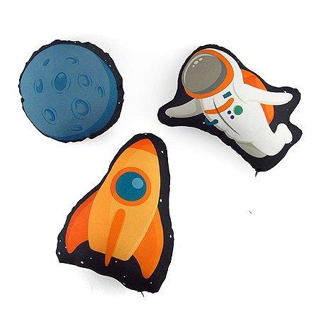 Kit Mini Almofadas Espacial