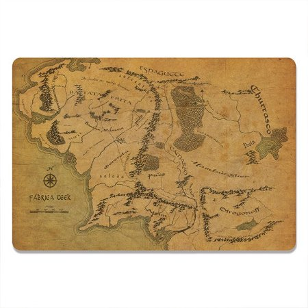 Kit Jogo Americano Mapa