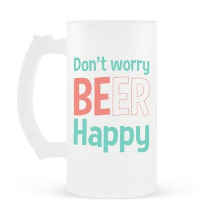Caneca de Chopp Dont Worry