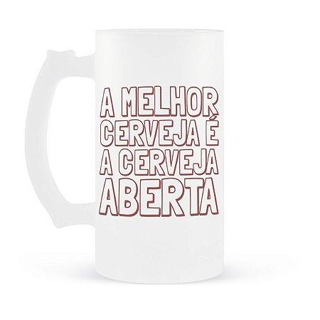 Caneca de Chopp Cerveja Aberta