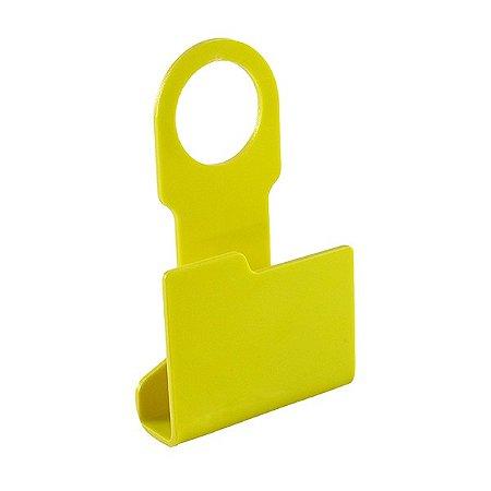 Porta Carregador de Celular Pasta Amarela