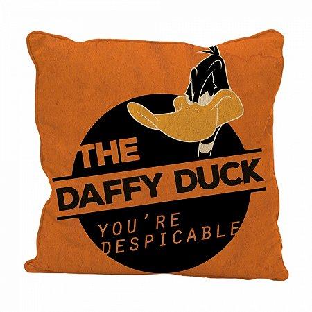 Capa almofada poliester looney daffy duck despicable