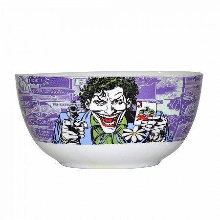 Set 2 pcs bowl porcelana dc joker c baralho fd roxo