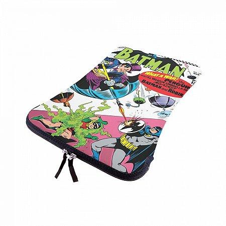 Capa p laptop neoprene batman dc colorida 40 x 30 cm