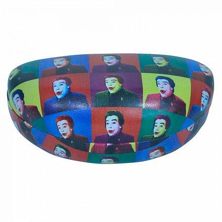 Caixa p oculos pu dco joker all faces colorido 16,5 x 6,9 x