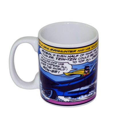Caneca porcelana new dc batman car