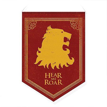Bandeirola Casas Westeros Leão