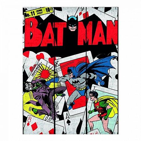 Placa dco batman and robin play cards