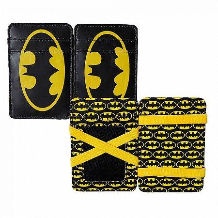 Carteira pu dc Batman Logo
