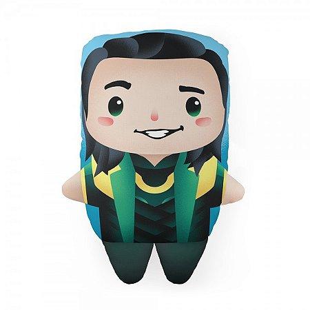 Almofada Formato Cute Loki