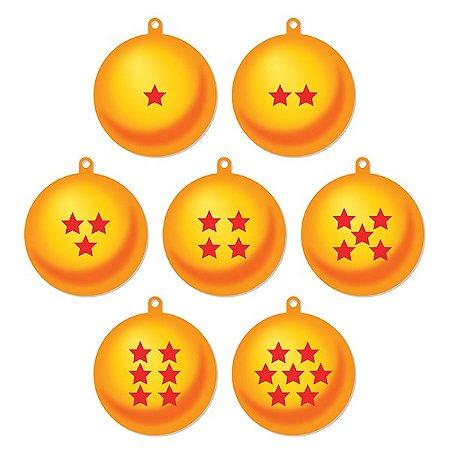Kit Enfeites de Natal esferas do dragão