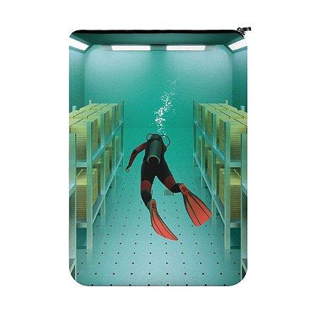 Capa para Notebook Ouro submerso