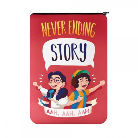 Capa para Notebook Dustin e Suzie