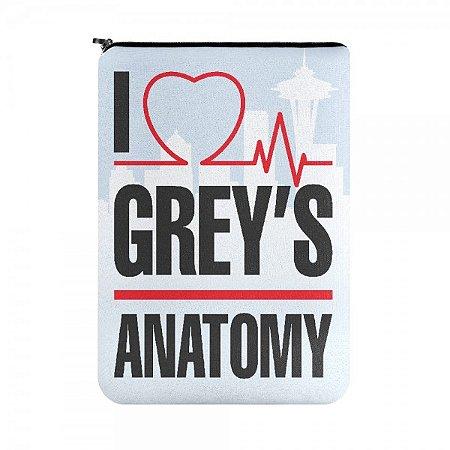 Capa para Notebook I Love Greys