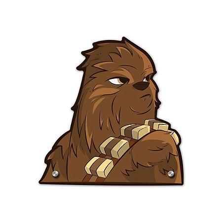 Cabideiro Peludo Chewie