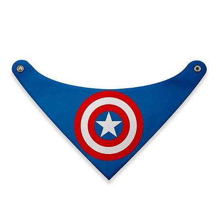 Bandana Pet Capitão América DC TAM PP