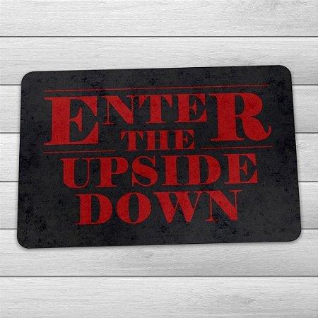 Capacho Stranger Things Enter The Upside Down - 60 x 40