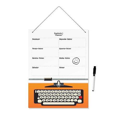 Planner Máquina de Escrever