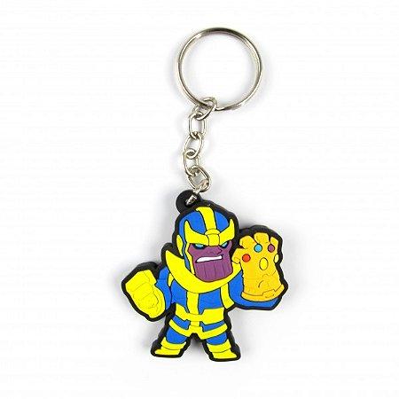 Chaveiro emborrachado Thanos manopla