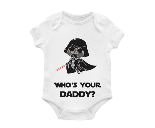 Body Bebê Daddy Darth