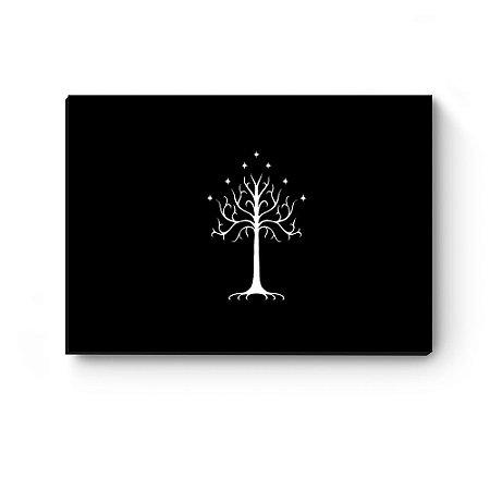 Quadro decorativo Senhor dos anéis Árvore de Gondor