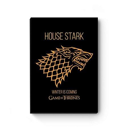 Quadro decorativo Game of Thrones Stark