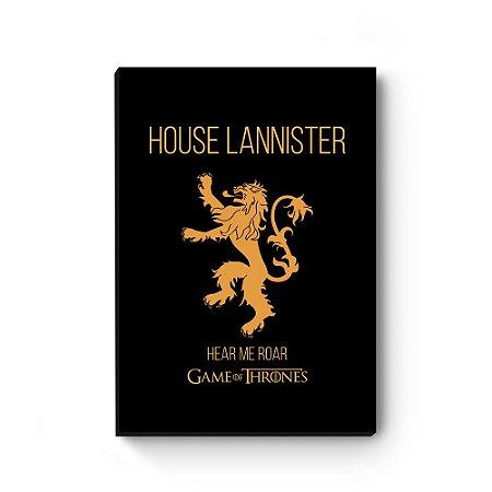 Quadro decorativo Game of Thrones Lannister