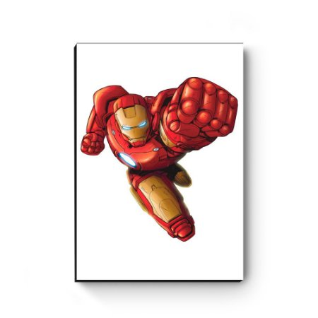 Quadro decorativo MDF Marvel Homem de Ferro