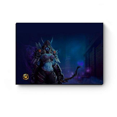 Quadro decorativo MDF World Of Warcraft Sylvanas II