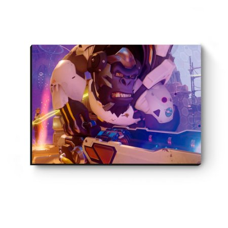 Quadro decorativo MDF Overwatch Winston