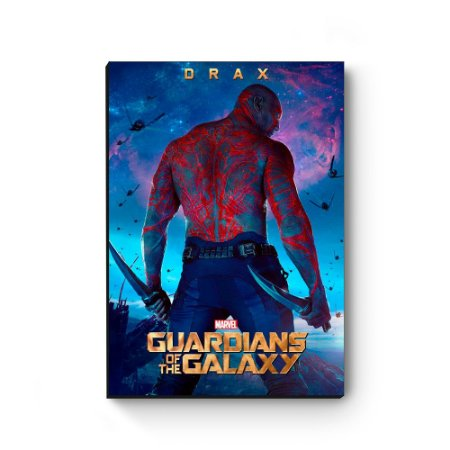 Quadro decorativo MDF Guardiões da Galaxia Drax