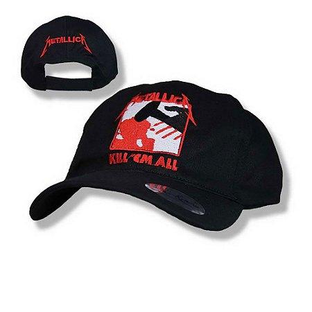 Boné Metallica Kill em all