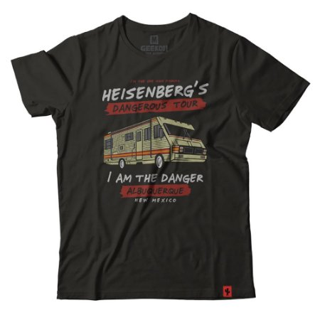 Camiseta Heisenberg's Dangerous Tour