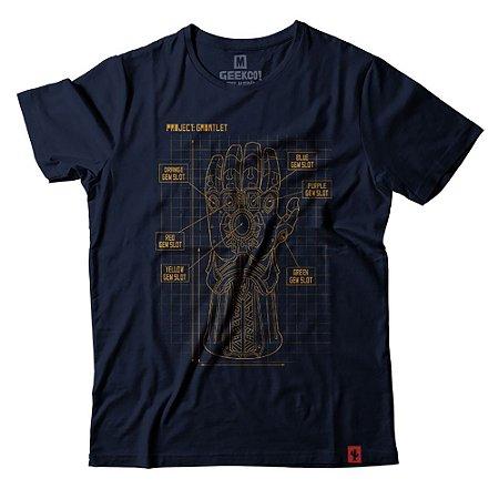 Camiseta Project Infinity Gauntlet