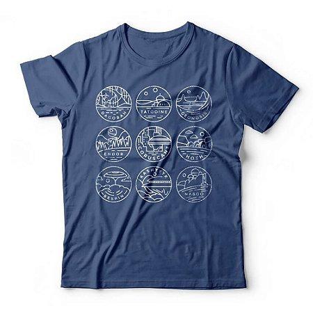 Camiseta Star Wars Planeta