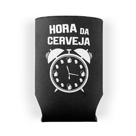 Porta Lata Hora da Cerveja
