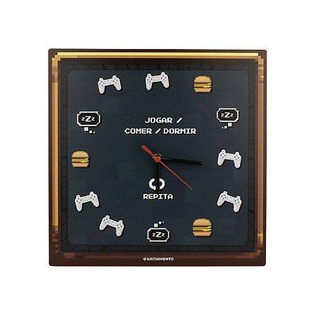 Relógio de parede Pixel