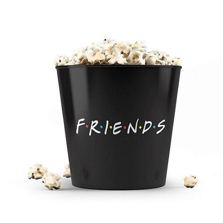 Balde de Pipoca Friends