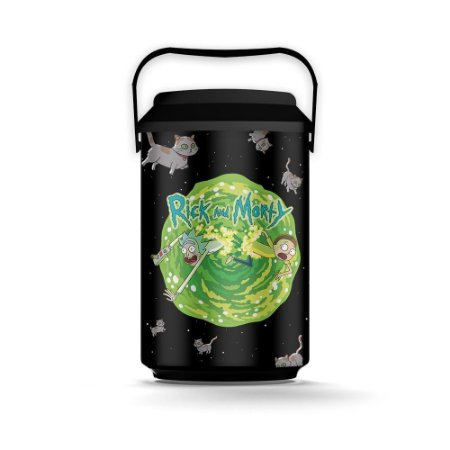 Cooler 10 Latas Cats Rick And Morty Oficial