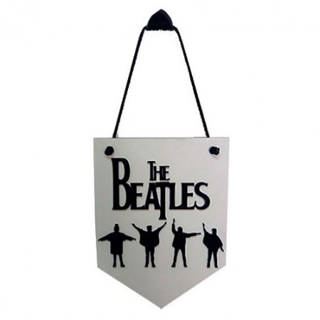 Placa de Parede The Beatles Sombra