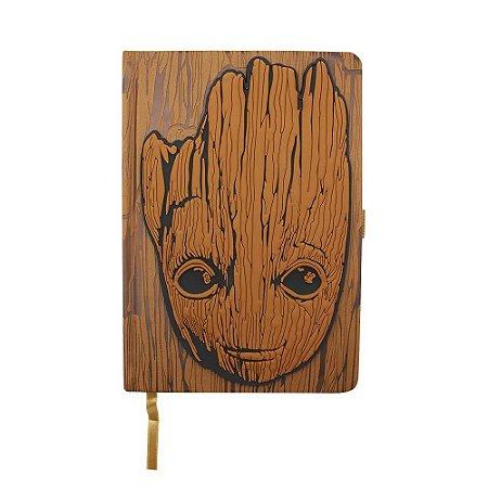 Caderno de Anotações Groot Guardiões da Galáxia